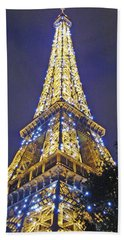 Tour Eiffel 2007 Bath Towel