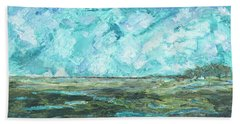 Toward Pinckney Island Hand Towel