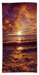 Hand Towel featuring the photograph Toward The Far Reaches by Phil Koch