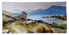 Towards Meelrea From Inisboffin Hand Towel