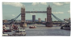 Tower Bridge B Bath Towel