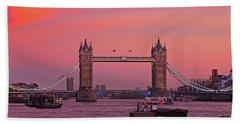 Tower Bridge London Hand Towel