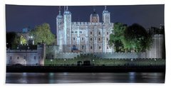 Tower Of London Hand Towel by Joana Kruse