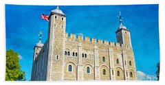 Tower Of London Hand Towel