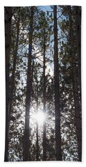 Towering Pines Bath Towel