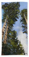 Towering Sequoias Hand Towel