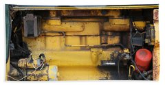 Tractor Engine Iv Hand Towel by Stephen Mitchell
