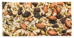 Bath Towel featuring the photograph Trail Mix Background by Jorgo Photography - Wall Art Gallery