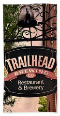 Trailhead Brewing Company Bath Towel