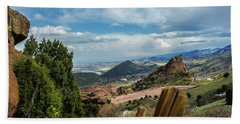 Trails At Red Rocks Hand Towel