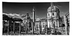 Trajan's Forum - Forum Traiani Bath Towel