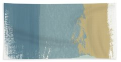 Tranquil Abstract 1- Art By Linda Woods Bath Towel
