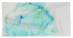 Tranquil And Soft Sky Hand Towel
