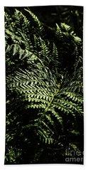 Tranquil Botanical Ferns Hand Towel