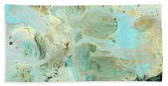 Tranquil Escape- Abstract Art By Linda Woods Bath Towel