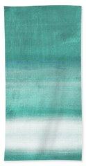 Tranquil Horizon- Art By Linda Woods Bath Towel