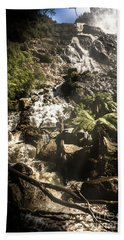 Tranquil Mountain Canyon Bath Towel