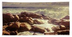 Tranquil Ocean Views Bath Towel