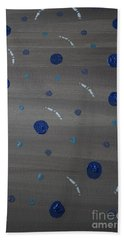 Tranquil Acrylic Abstract Bath Towel