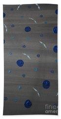 Tranquil Acrylic Abstract Bath Towel