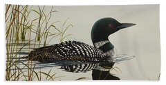 Tranquil Stillness Of Nature Hand Towel by James Williamson