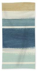 Tranquil Stripes- Art By Linda Woods Bath Towel