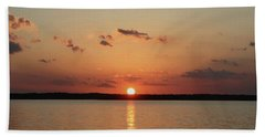 Tranquil Sunset Hand Towel