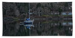Bath Towel featuring the photograph Tranquility 9 by Timothy Latta