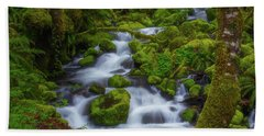 Tranquility Creek Bath Towel