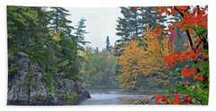 Hand Towel featuring the photograph Autumn Tranquility by Glenn Gordon