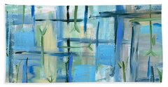 Tranquility Painting Bath Towel