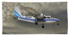 Trans Anguilla Airways Britten-norman Bn-2b-21 Islander 116 Hand Towel
