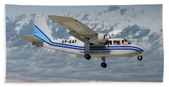 Trans Anguilla Airways Britten-norman Bn-2b-21 Islander 113 Hand Towel