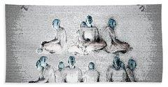 Transcendental Meditation Hand Towel