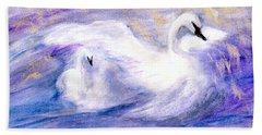 Transformation Bath Towel by Gail Kirtz