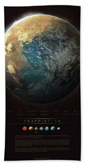 Trappist-1d Hand Towel