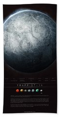 Trappist-1h Hand Towel
