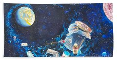 We Loved Earth At One Time - Yes We Did. Bath Towel