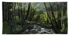 Trask River Hand Towel