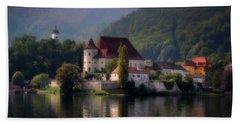 Bath Towel featuring the photograph Traunkirchen - Austria by Ellen Heaverlo
