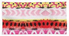 Southwest Jubilee- Art By Linda Woods Hand Towel