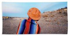 Traveler Hand Towel by Evgeniya Lystsova
