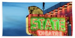 Traverse City State Theatre Bath Towel