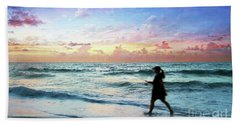 Treasure Coast Florida Seascape Dawn D6 Hand Towel