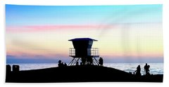 Treasure Coast Florida Sunrise Seascape Paradise 447c Bath Towel