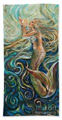 Treasure Mermaid Hand Towel