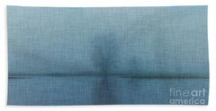 Tree Among Waters Bath Towel by Inspired Arts