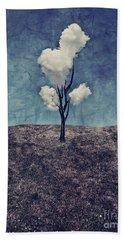 Tree Clouds 01d2 Bath Towel