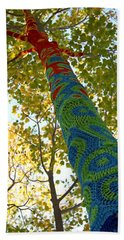Tree Crochet Bath Towel