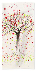 Tree Explosion Bath Towel